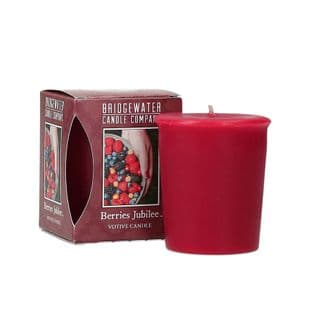 Berries Jubilee Boxed Votive Candle - NEW