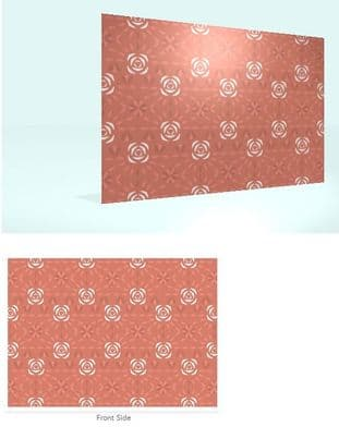 Home of Home Fragrance Scented Drawer Liners - Clear Envelope - Roses