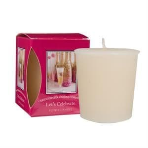 Lets Celebrate Boxed Votive Candle