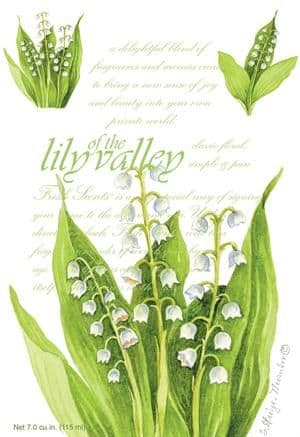 LILY OF THE VALLEY - WILLOWBROOK SCENTED SACHET