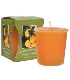 Orange Vanilla Boxed Votive Candle