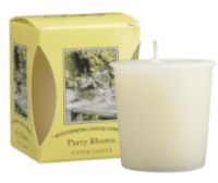 Party Blooms Boxed Votive Candle