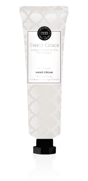 Sweet Grace Body Care Collection Hand  Creme (antibacterial) ingredients 65ml