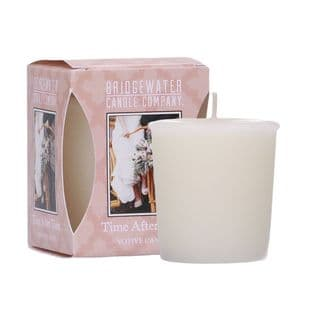 Time After Time Boxed Votive Candle
