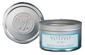 Votivo Travel Tin - White Ocean Sands