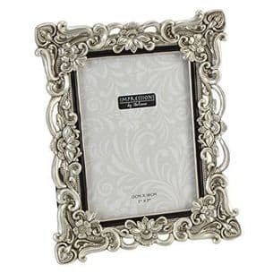 Antique Silver Vintage Ornate Shabby Chic Picture Photo Frame 7