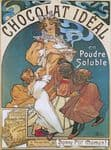 Chic Style Vintage French Chocolat Ideal Metal Sign Plaque